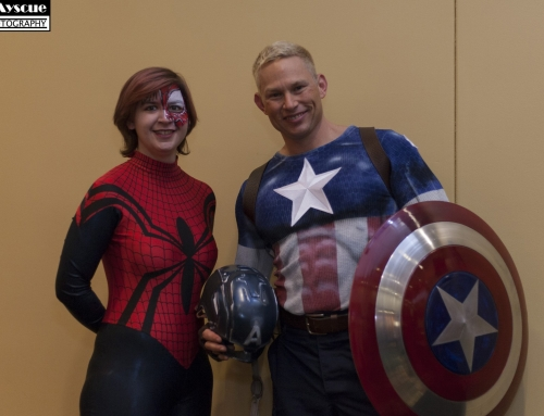 Cap and Spider Woman